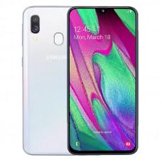 Samsung Galaxy A40 A405F Dual Sim White