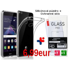 SET Ultra Slim Púzdro + Ochranné sklo Huawei Mate 20 Lite